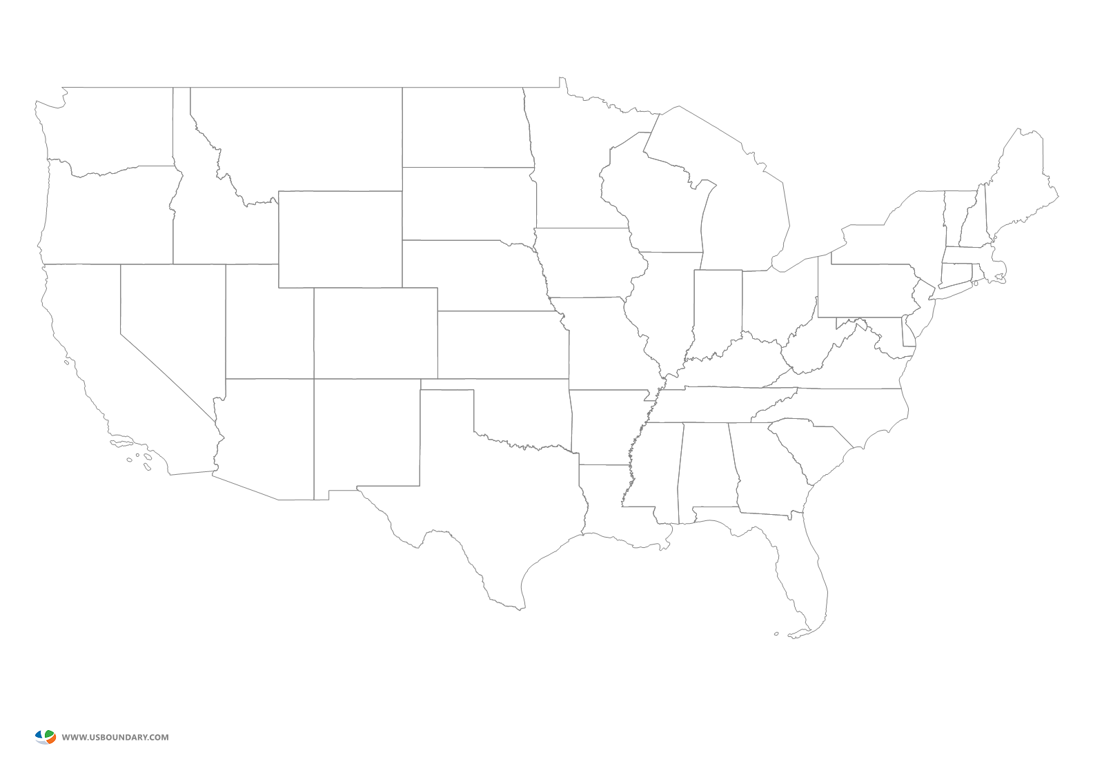 United States Maps Download