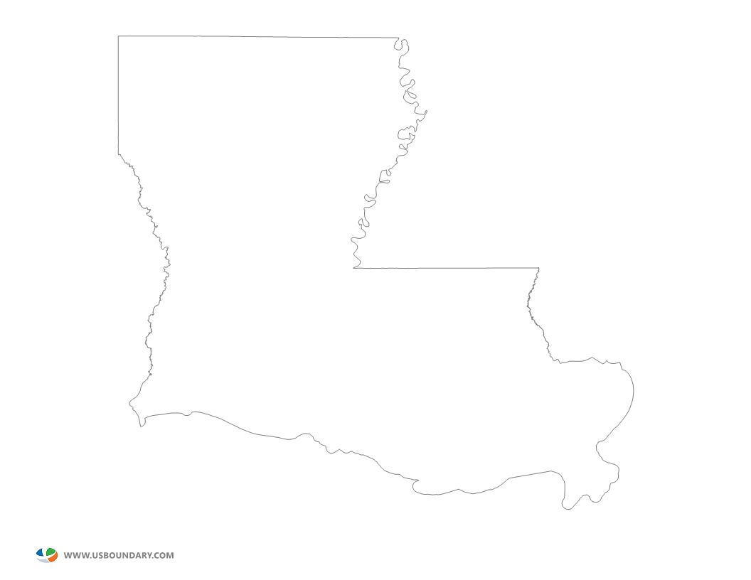 louisiana map outline – bnhspine.com